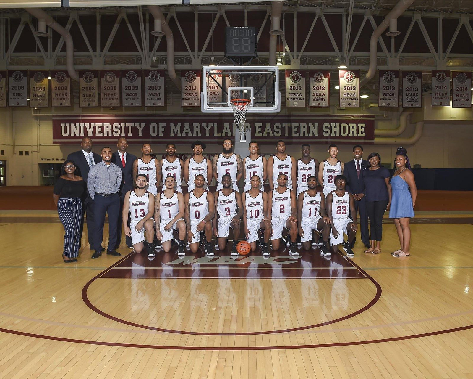 2018-19 men's basketball roster - university of maryland eastern